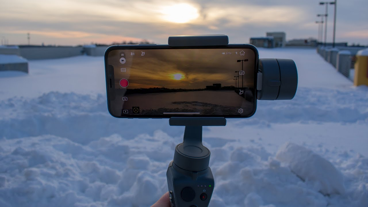outlet store 20301 9ffc1 DJI Osmo Mobile 2 & iPhone X at 4K 60fps