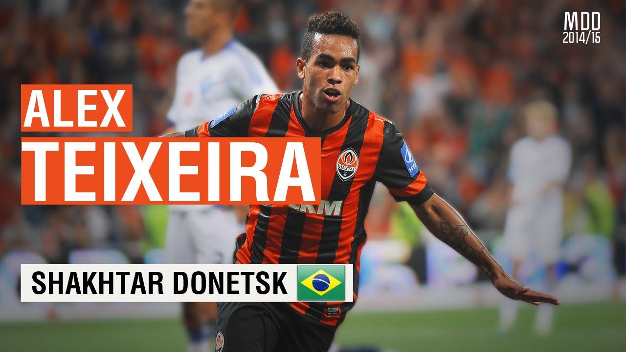 Alex Teixeira Shakhtar Donetsk Goals Skills Assists