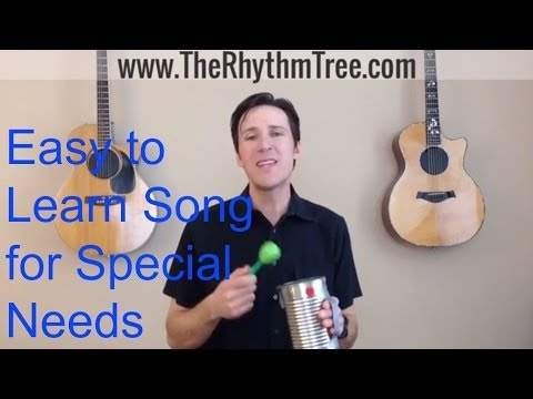 Music Therapist Teaches You a Great Song for Special Needs