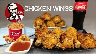KFC Hot Wings | Kentucky Chicken | Drum Sticks mit Cornflakes | Chicken im Backofen