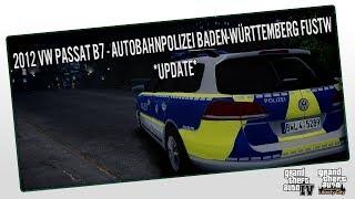 gta 4 2012 vw passat b7 autobahnpolizei baden wrttemberg fustw update