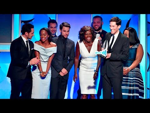 'How to Get Away with Murder' Accepts the GLAADAWARDS for Outstanding Drama Series