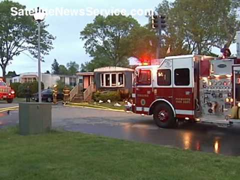 PLYMOUTH, MA- Woman Killed on Mobile Home Fire (05-18-09)