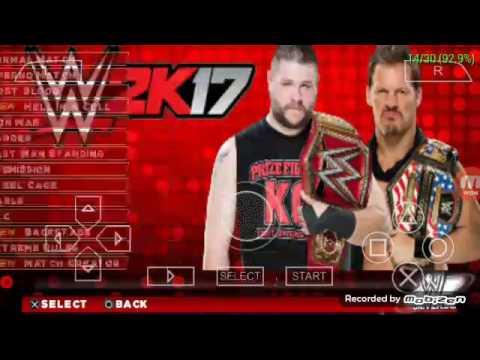 WWE 2K17 PSP Mod V 2 by MJI
