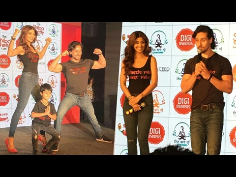 Shilpa Shetty Launches Her Own Wellness Website | Tiger Shroff | FULL EVENT HD | UNCUT