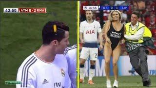 When Football Fans Go Too Far In Football Against Ronaldo, Messi, Big Matches!