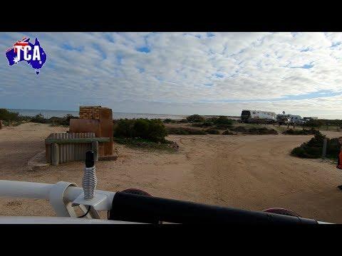 Gladstone Bay Campground. Shark Bay W.A.