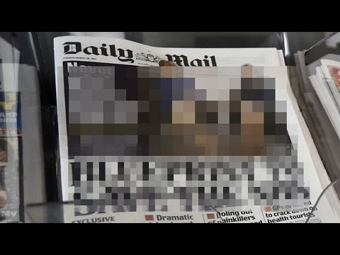 Theresa May On Sexist Daily Mail Front Page