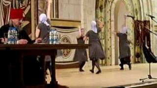 Танцы в Храме Христа Спасителя(Православная церковь одобряет танцы в церкви!, 2008-09-29T11:06:31.000Z)