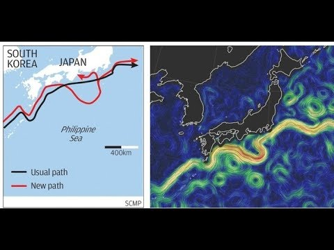 Sea Currents Change Near Japan, Tokyo Shivers in Mini Ice Age Repeat (520)
