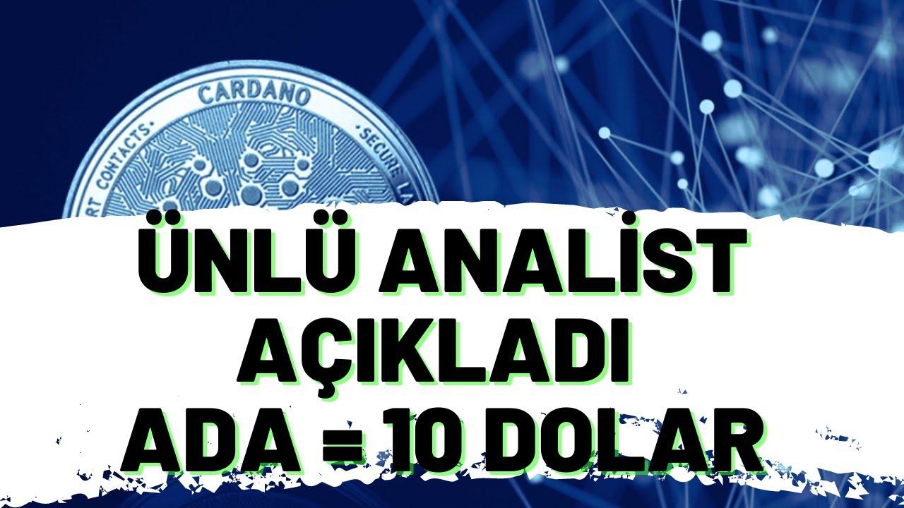 Cardano (ADA) Coin GELECEĞİ! ADA COİN Analiz.
