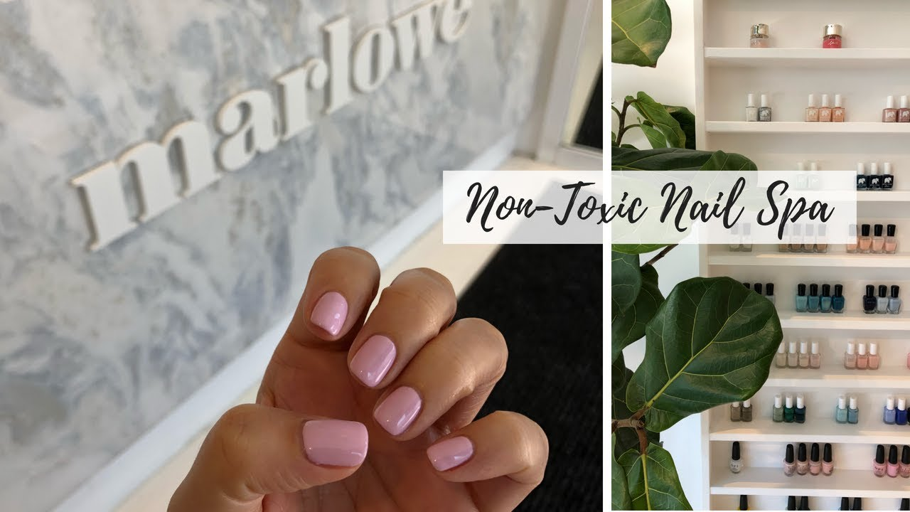 GETTING MANICURED 💅 Best Gel Manicure + Non-Toxic Nail Care Options ...