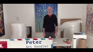 How to Safely Pack Paintings for Shipping