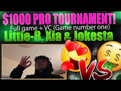 $1000 PROS + CONTENT CREATORS TOURNAMENT + VC (LittleB, Jokesta, Xia) | #8 | COD MOBILE from YouTube · Duration:  19 minutes 40 seconds