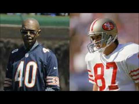 GALE SAYERS AND DWIGHT CLARK CASUALTIES OF WAR IN THE NFL