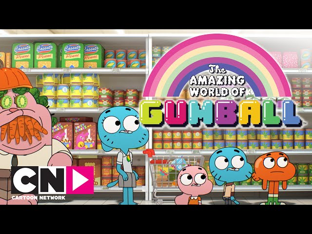 De Wonderlijke Wereld van Gumball | De woede | Cartoon Network