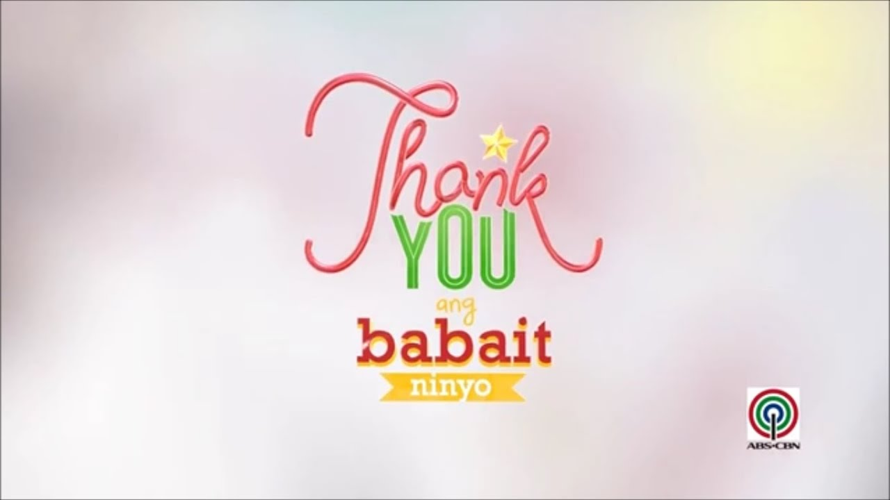 Thank You, Ang Babait Ninyo - ABS-CBN Christmas Station ID 2014 (Chipmunks Max Bass) - YouTube