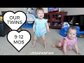 Our Twins: 9-12 Months Video Montage - Cute Baby Overload!