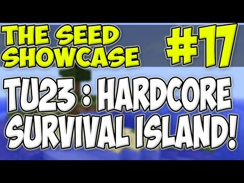 Minecraft Xbox & Playstation : TU23 SEED : HARDCORE SURVIVAL ISLAND | 1 TREE & LOADS OF ORES!