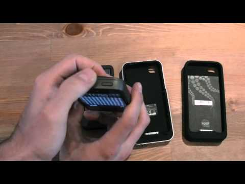 iPhone 4/4S Extended Battery Case Shoot-out