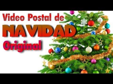 video postal de navidad video postal de navidad original feliz navidad