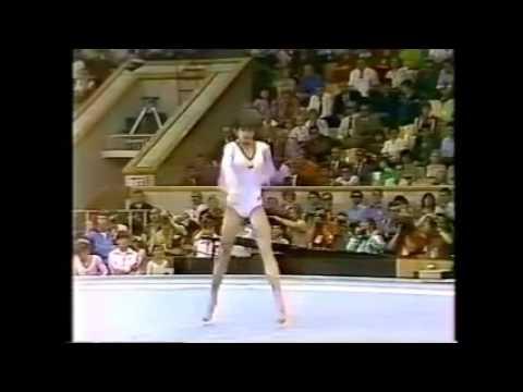 Nadia Comaneci ROM Floor Event Final 1980 Moscow RARE