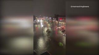 Queens, New York under water during flash flood emergency
