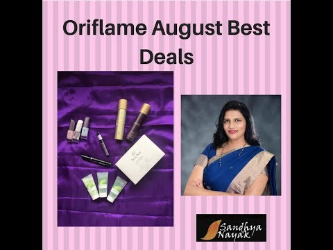Oriflame August Best Deals || Review || What I bought from Oriflame