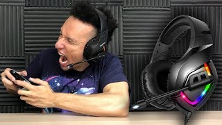 UNBOXING | RUNMUS K1 7.1 RGB Gaming Headset For Xbox, PS4, PC