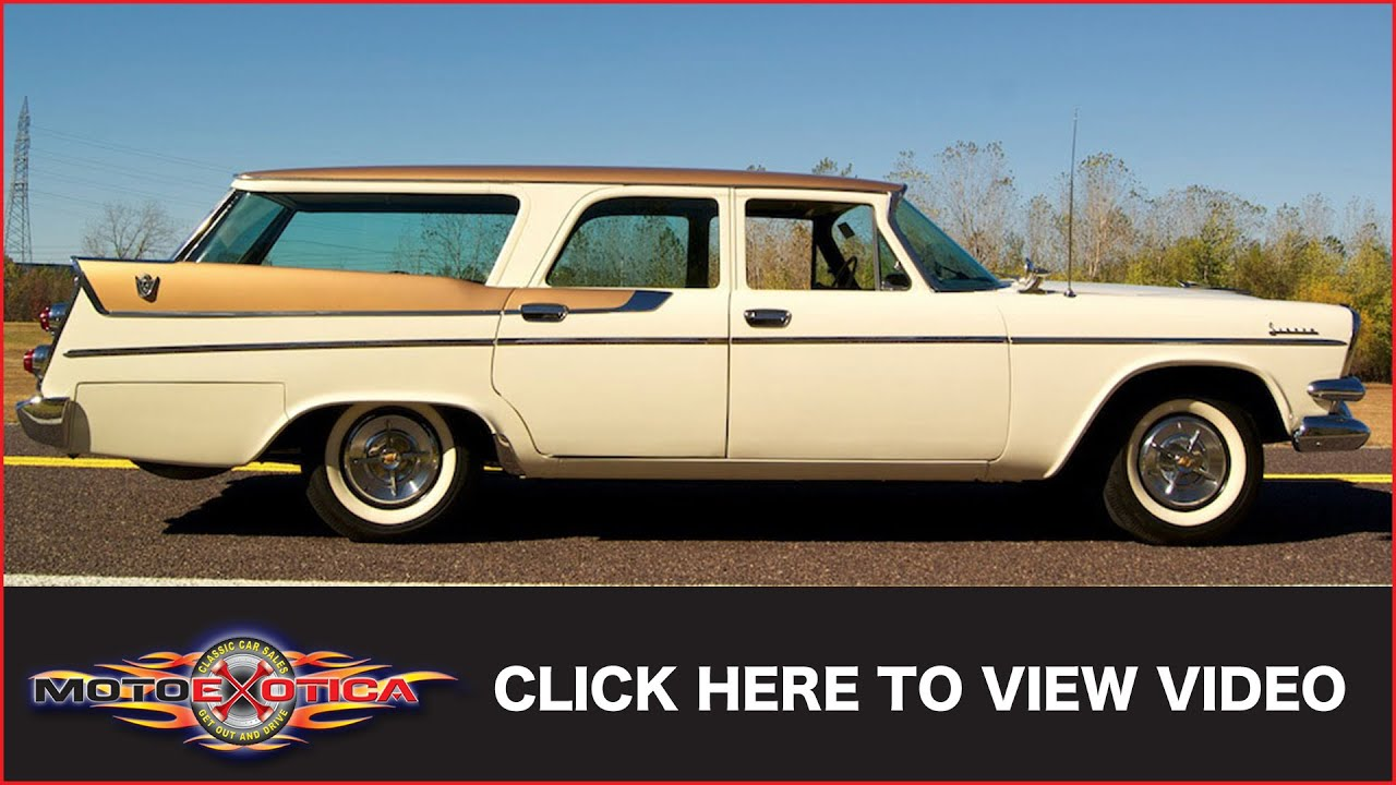 1957 Dodge Spectator Wagon (SOLD) - YouTube
