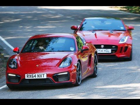Jaguar F-type coupé versus Porsche Cayman GTS