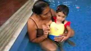 Anjali in the Pool