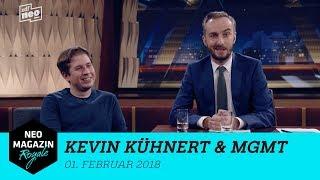 Heute zu Gast im Neo Magazin Royale: Kevin Kühnert & MGMT   NEO MAGAZIN ROYALE mit Jan Böhmermann