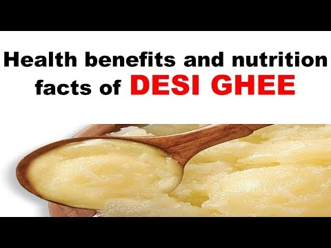 Health benefits and nutrition facts of DESI GHEE Dr Duchania Fitness