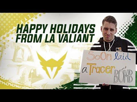 Happy Holidays from LA Valiant