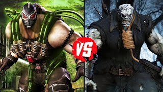 Injustice - What If Battle - Bane Vs Solomon Grundy