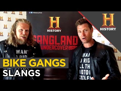 Bike Gangs Slangs With Damon & Ian | Gangland Undercover