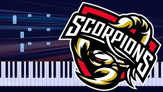 Scorpions - Send Me An Angel Piano Tutorial видео