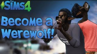The Sims 4: Become a Ferocious Werewolf! (Mod Showcase)