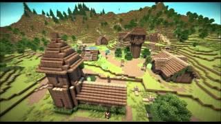 minecraft village medieval build