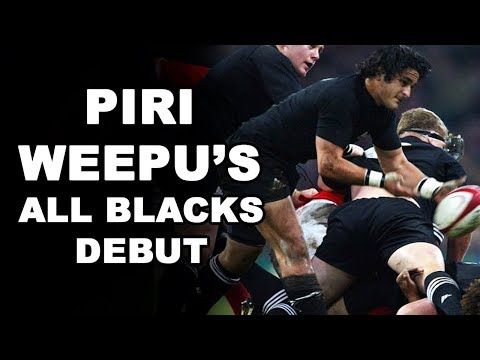 Piri Weepu's All Blacks Debut