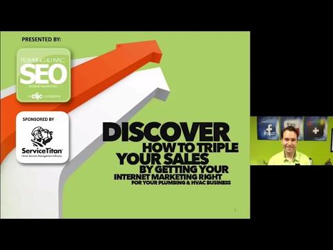 ServiceTitan Internet Marketing webinar with Plumbing & HVAC SEO (Josh Nelson)