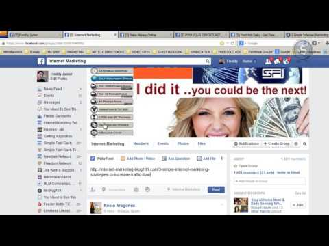 How to Get Free Traffic from Facebook in 2017 || Increase Your Income Fast