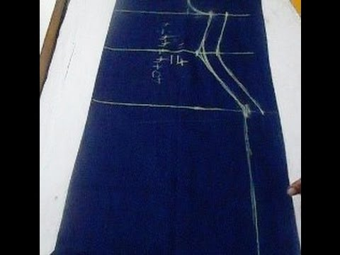 Kameez / Kurta Cutting Easy Method Step By Step  (DIY)