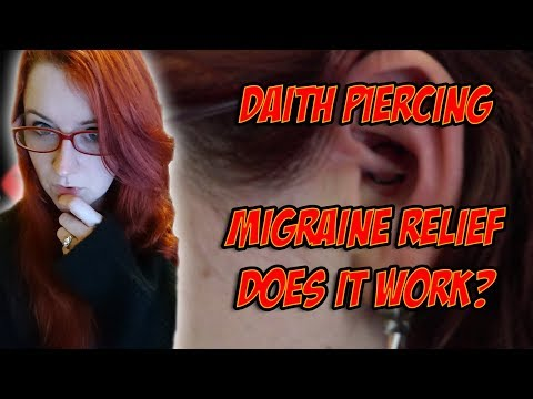 Daith Piercing Experience: Migraine Relief + 10 Month Update! - Challenge Accepted