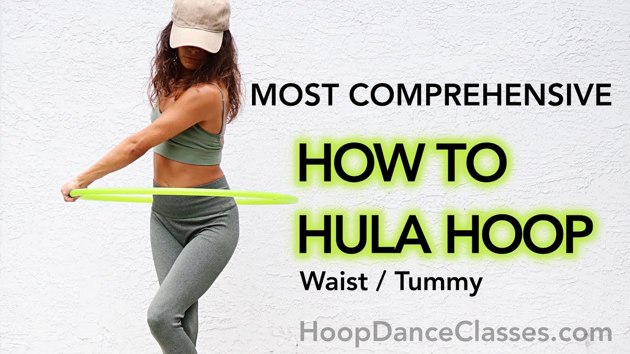 How to Hula Hoop on Your Waist for Beginners