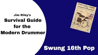 Jim Riley's Survival Guide - Swung 16ths Pop Play Through