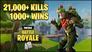 Top 1% Xbox One Solo Player | 1000+ Wins | 21200+ Kills | Fortnite Battle Royale Live