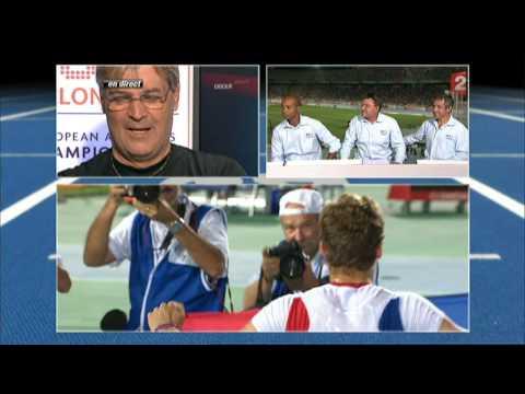 christophe lemaitre 100 metres champion d'europe