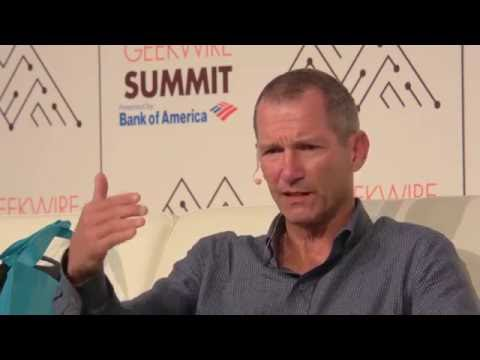 Jeff Jordan of Andreessen Horowitz at the GeekWire Summit